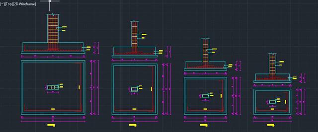 برنامج لتصميم مبنى سكنى (EDOB-CAD)