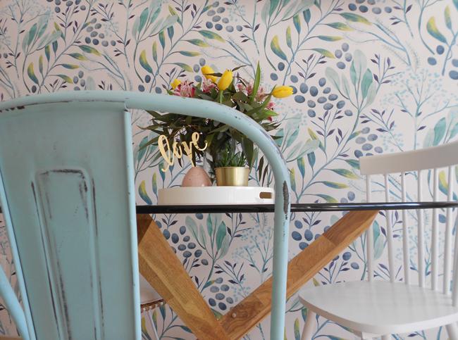Papel pintado en mi salón . La Garbatella: blog de decoración estilo ...