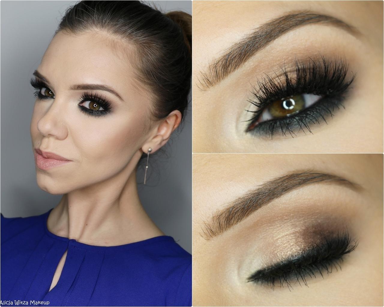 Alicja Witza Makeup Makijaż Wieczorowy Krok Po Kroku Mocny