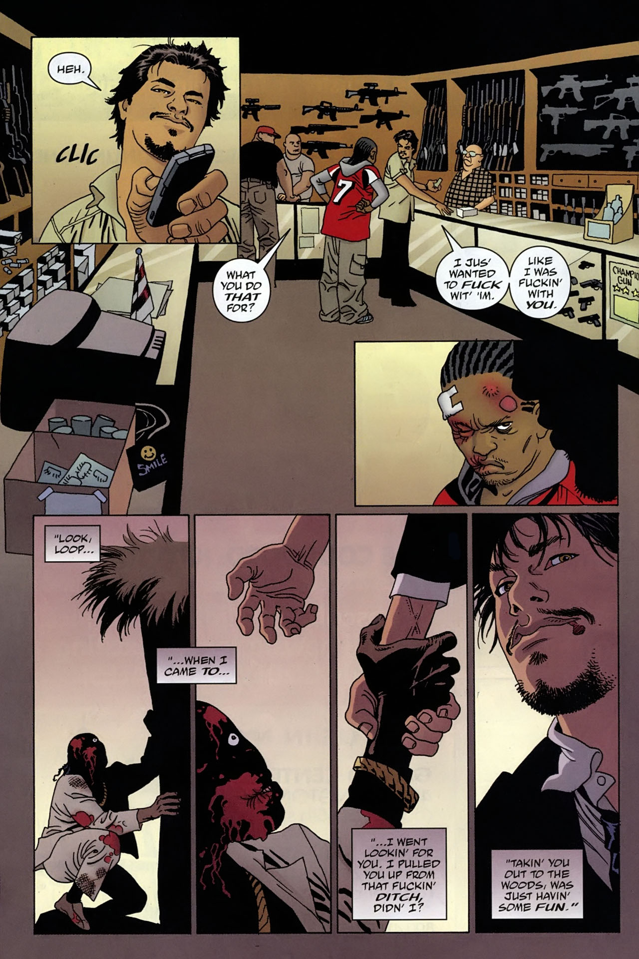 Read online 100 Bullets comic -  Issue #96 - 10