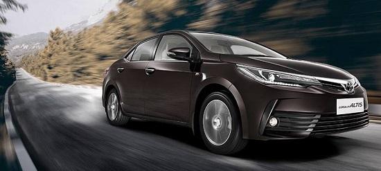 Price Toyota Corolla Altis