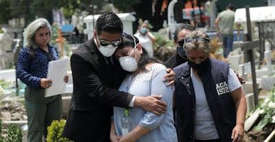México traspasa  la barrera de los 50.000 muertos por COVID 19