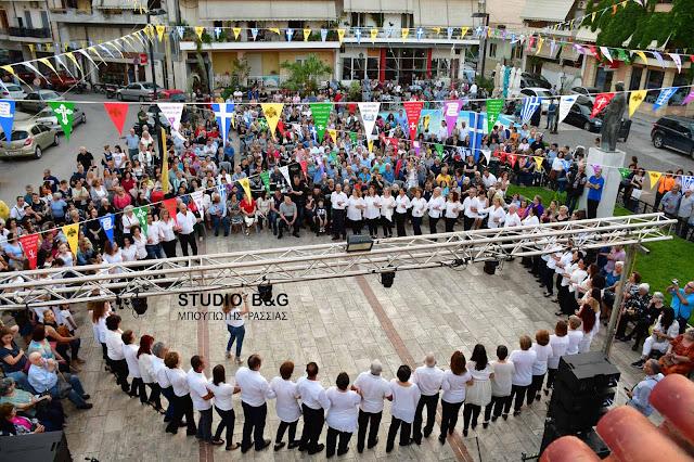 Μουσικοχορευτική εκδήλωση στον Ι. Ναό Αγ. Κωνσταντίνου και Ελένης στο Ναύπλιο με τον Π. Λάλεζα (βίντεο)