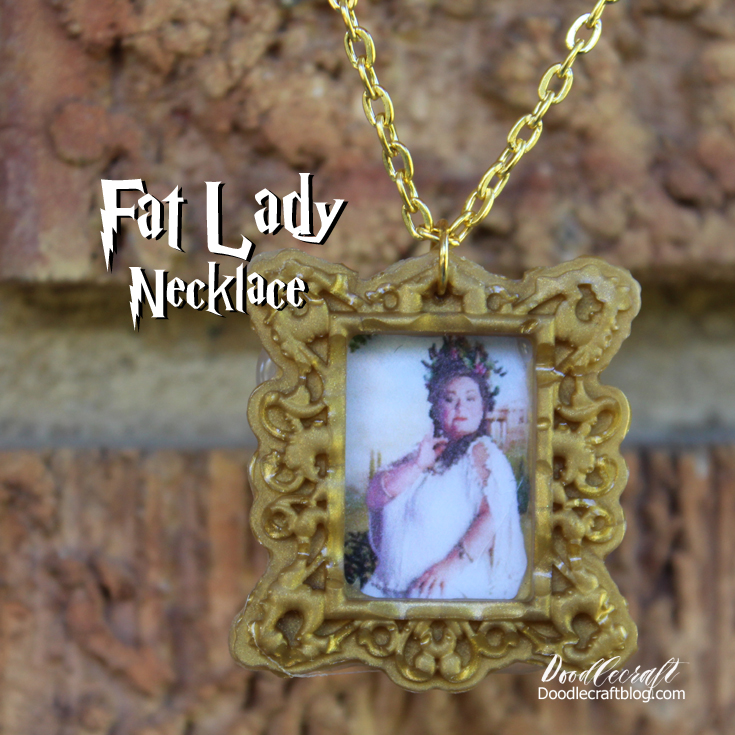 http://www.doodlecraftblog.com/2016/10/harry-potter-fat-lady-necklace-and.html