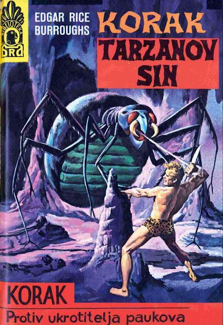 Protiv ukrotitelja paukova - Korak (Tarzan) - Tarzan