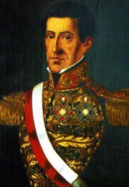 Dibujo de Agustín Gamarra a colores