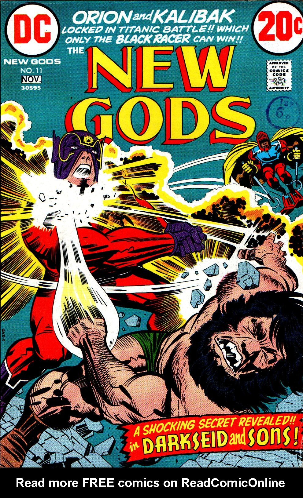 The New Gods (1971) issue 11 - Page 1