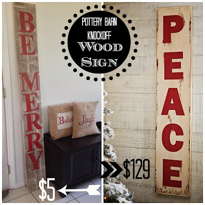Pottery Barn knockoff, oversized wood sign, Silhouette tutorial, Silhouette Studio