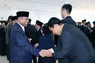 <b>Wagub Amin Lantik Sejumlah Pejabat Fungsional</b>
