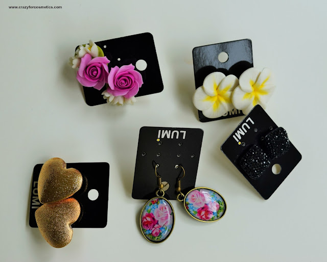 Earrings and Accessories from Bugis Junction