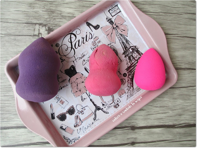 Esponjas para maquillaje - UBU - Cazcarra - Beauty Blender