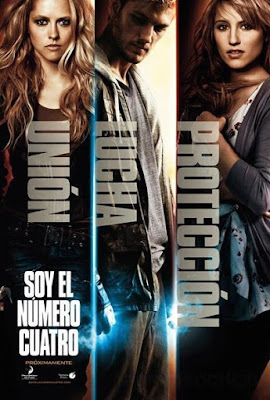 I Am Number Four 2011 DVD R1 NTSC Latino