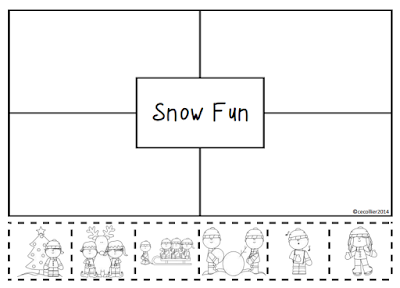 Let's write about Christmas the 4 Square way. Either students are using a pre-made 4 Square or make their own.