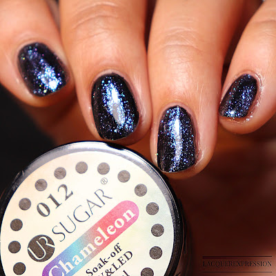 UR Sugar Chameleon gel polish from the Born Pretty Store #40596-12