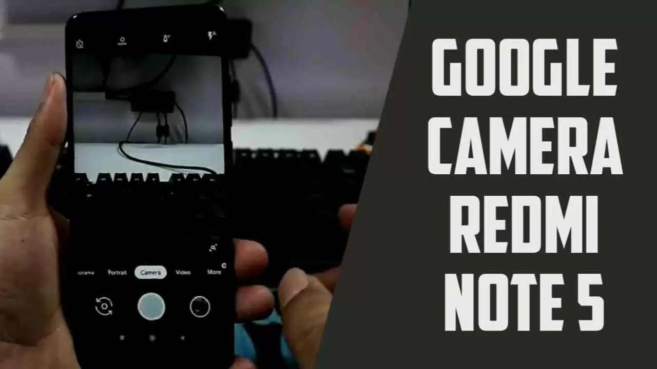 cara instal google camera dan camera2 api Redmi Note 5 MIUI 10 Pie