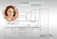 Castiga o bucatarie creata pentru tine de designerul Adela Parvu