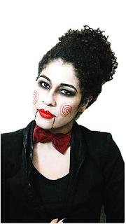 Jigsaw maquiagem