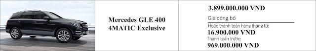 Giá xe Mercedes GLE 400 4MATIC Exclusive 2019 khuyến mãi giảm giá hấp dẫn