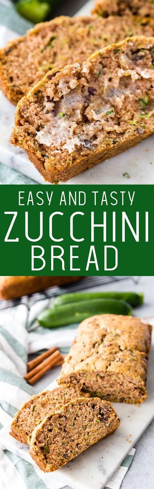 Easy Zucchini Bread – The Only Zucchini Bread Recipe You Will Ever Need