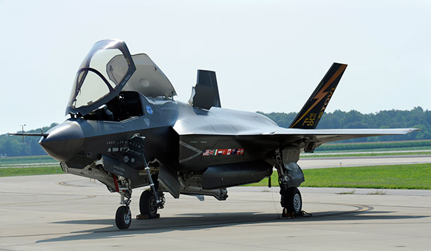 Suburban spaceman: UK Joint Strike Fighter (JSF): Unable to