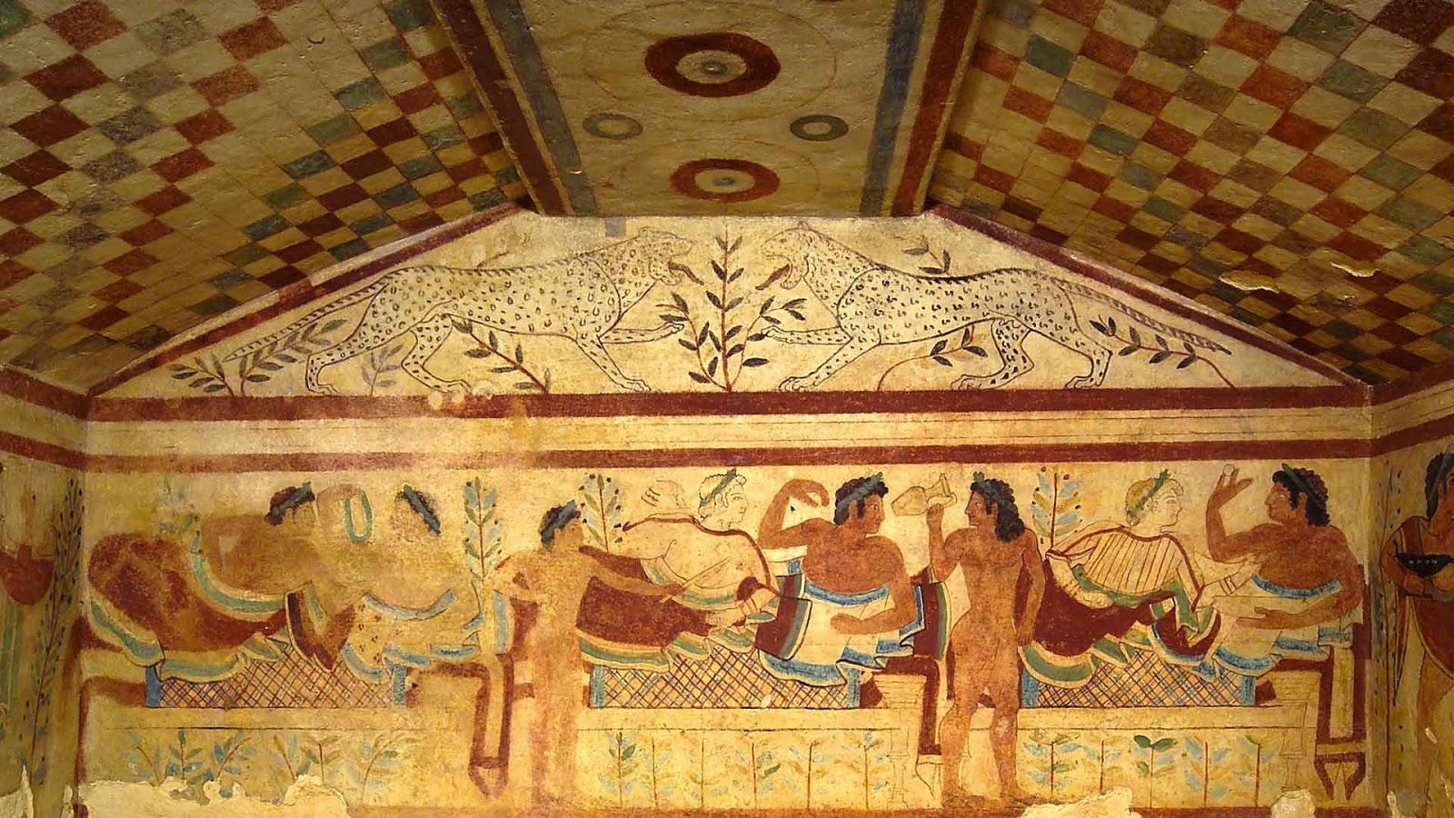 Il Mistero degli Etruschi - Escursione alla Necropoli Etrusca Domenica 14/10/18, h 9.00 rientro a Roma h 19.30 ca.