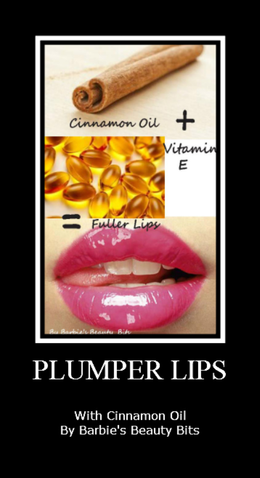 Plumper lips with cinnamon by barbies beauty bits
