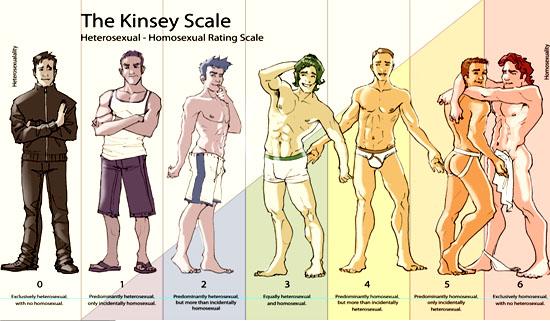 Escala da sexualidade da Yougov - Variações da sexualidade