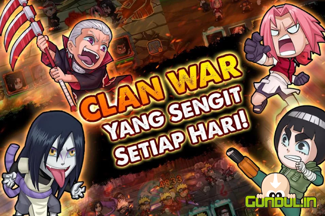 Ninja Rebirth: Shinobi War V1.0.1 APK MOD DATA (Full New Update)