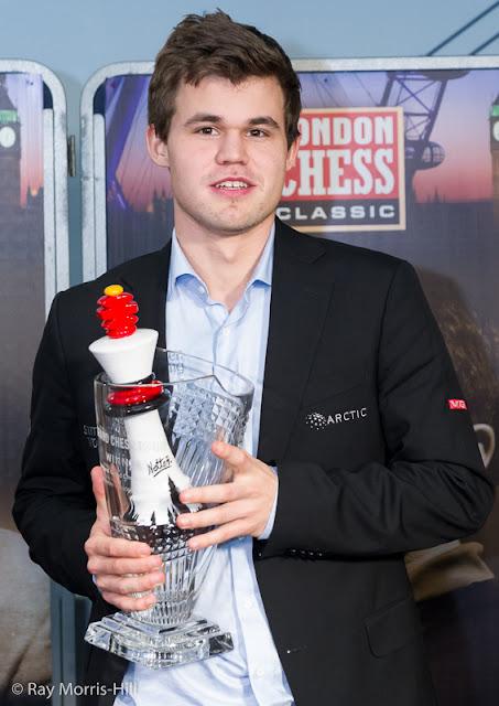 Magnus Carlsen fue el vencedor del Grand Chess Tour 2015