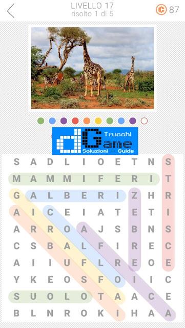 10x10 Crucipuzzle soluzione pacchetto 17 livelli (1-5)