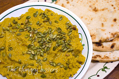 Curried Pumpkin Hummus