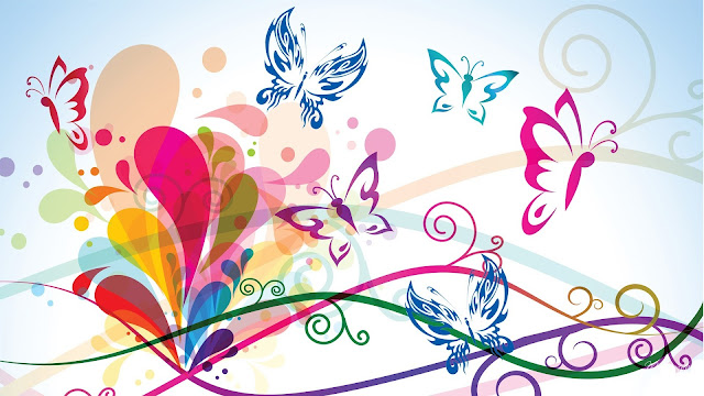 Butterfly backgrounds 5