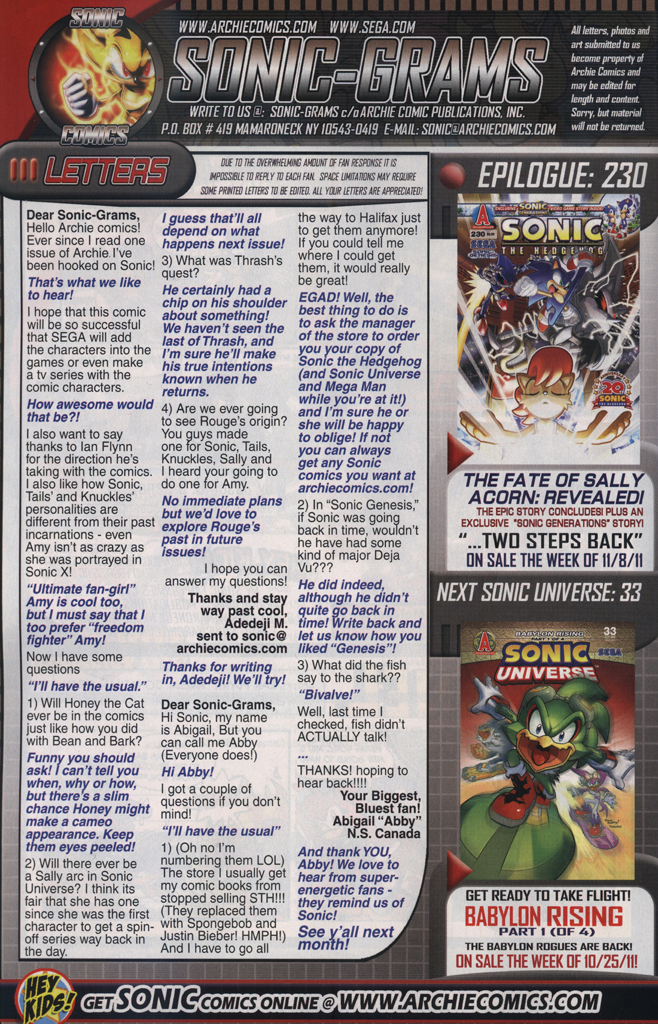Read online Sonic The Hedgehog comic -  Issue #229 - 34