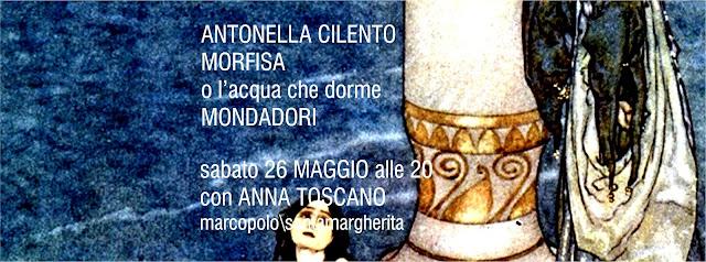 Antonella Cilento alla MarcoPolo - sabato 26 maggio