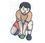 teknik menangkap bola kasti bawah