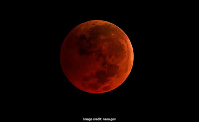 Lunar eclipse - Rare celestial event after 150 years