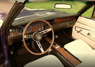 1970 Dodge Charger 500 Sports Convertible Dashboard