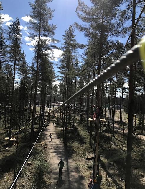 Uusi köysiseikkailupuisto avattiin Helsingin Paloheinään 11