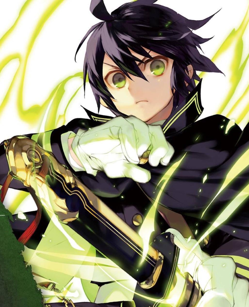 Anime Action Terbaik Owari no Seraph Yuichiro Hyakuya