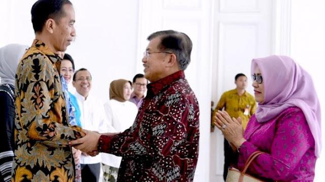 Jokowi-JK Kembali Dipasang? Golkar: 'Ya Itu Dikembalikan Kepada Pak Jokowi Ya'