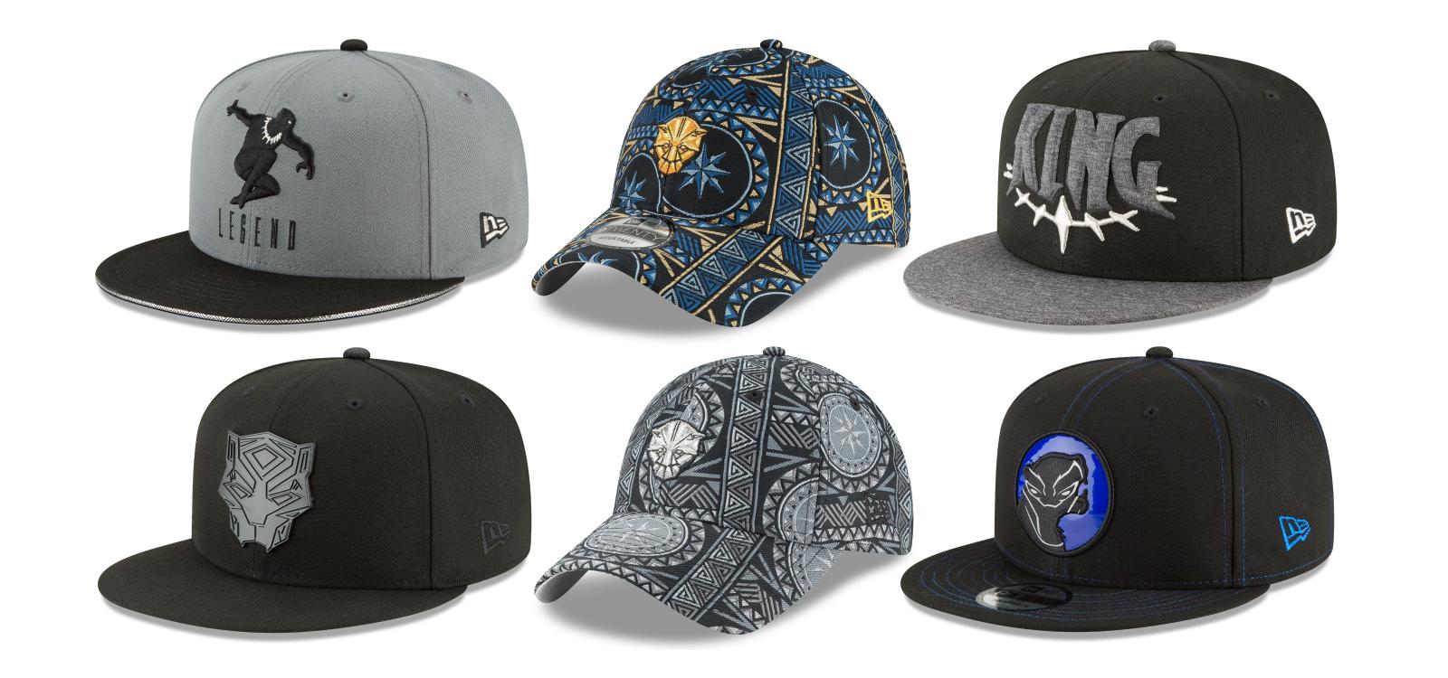 100% authentic c7d7c a5849 New Era Cap Unveils Its Black Panther Movie Marvel Hat Collection!