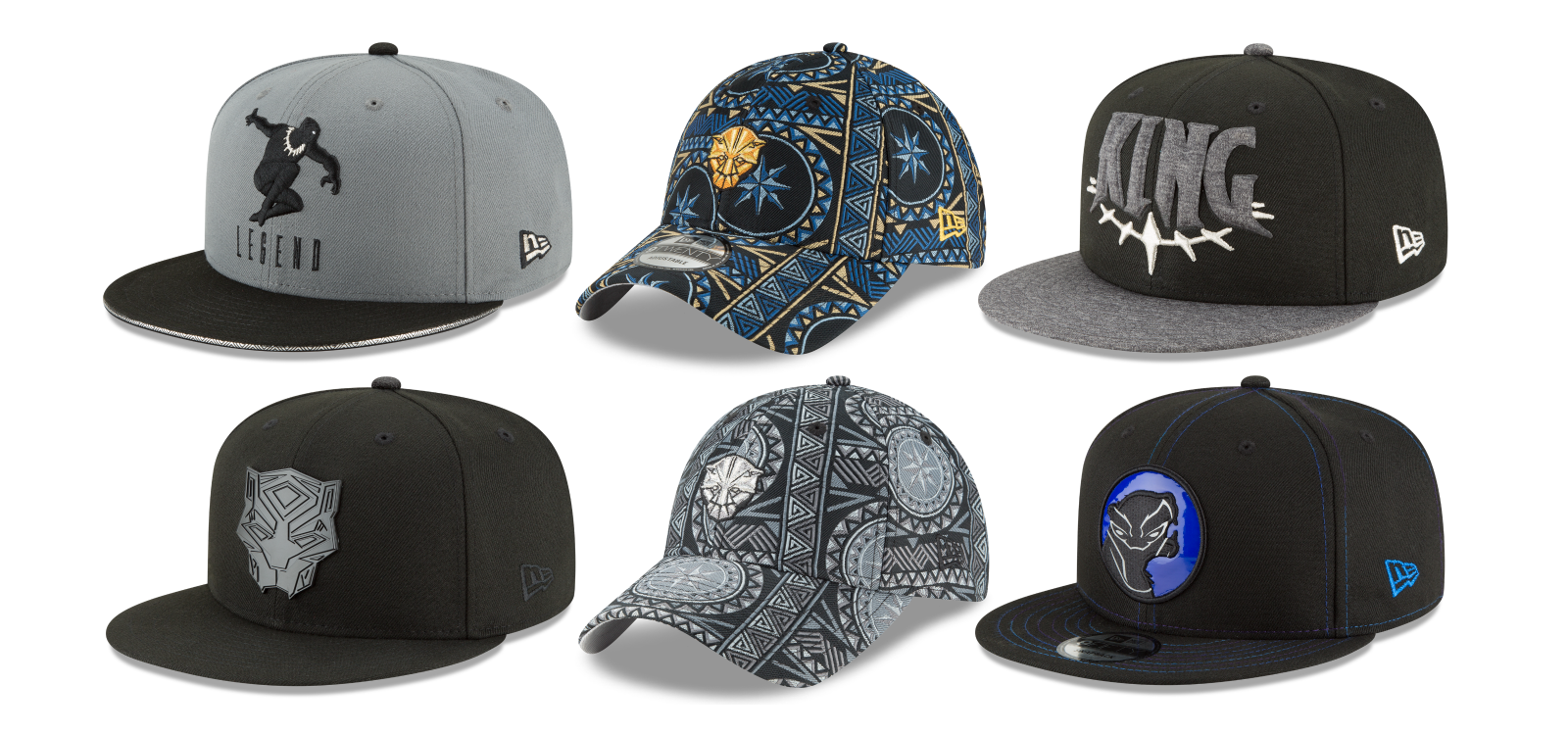 100% authentic a5b71 46e5d New Era Cap Unveils Its Black Panther Movie Marvel Hat Collection!
