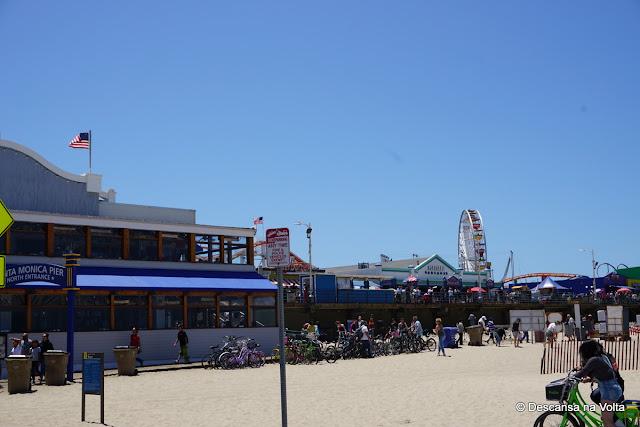 Pier de Santa Mônica Califórnia