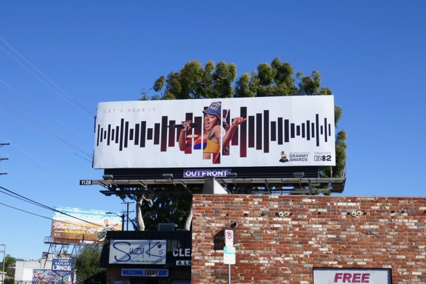 Cardi B Grammys 2019 billboard