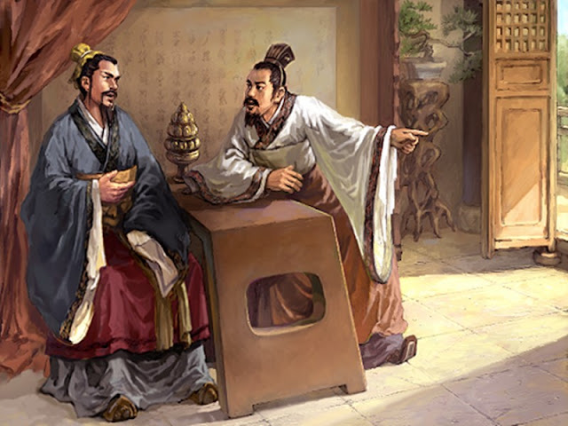 Chapter 24 : Cao Cao Murdered The Consort Dong; Liu Bei Flees To Yuan Shao.