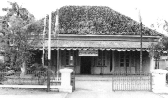 Wisma Indonesia, tempat dilaksanakannya Kongres Pemuda II pada tanggal 28 Oktober 1928. Wisma Indonesia terletak di Jl. Kramat Raya No. 106, Jakarta Pusat.