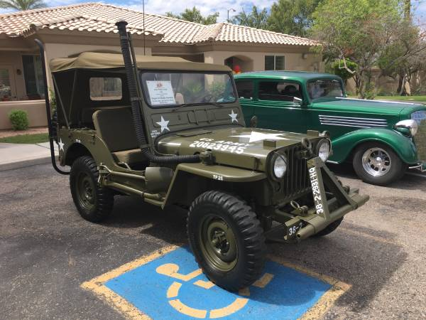 1951 Willys M38 For Sale