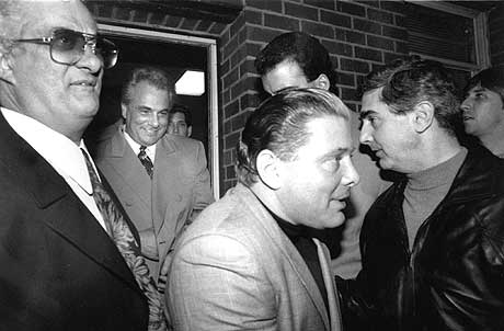 John Gotti and Salvatore Gravano, aka Sammy the Bull
