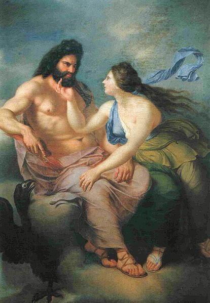 relationship between thetis and zeus