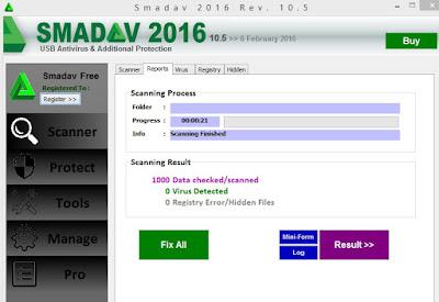 Download Smadav menggunakan IDM
